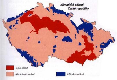 Klima v ČR