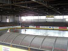 The town ice arena