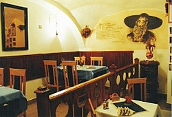 The U Žida restaurant